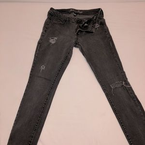 American Eagle Outfitters smokey jeans